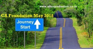 ICAI Announced CA Foundation May 2018 Examination Dates and Details