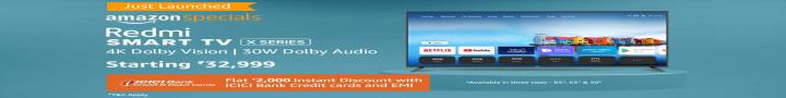 cashback on TV, offers on TV through amazon, Amazon TV, Discounts on Amazon, Cheap rates on Amazon, Heavy discounts on Amazon, Redmi TV on Amazon, Smart TV on Amazon, heavy Discount on Amazon Products, Amazon discounts, sales on electronics, discounts on amazon, shopping amazon, heavy discounts and offers on amazon, offers on Amazon, why to shop on Amazon, saste products on Amazon, amazon par shopping kaise kare, TV par massive discount on amazon, Redmi Smart TV, Redmi Smart TV X Series, Redmi TV with discount on Bank credit cards,