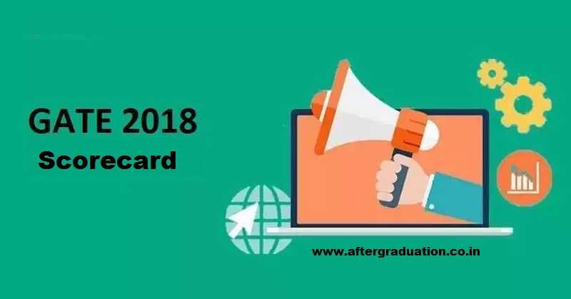 GATE 2018 Scorecard Releases on gate.iitg.ac.in Today, Download Soon for Admission and Recruitment