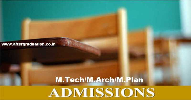 CCMT 2019- Centralized Counselling For M.Tech/M.Arch/M.Plan Admissions in NITs, CFTIs through GATE Score of 2017/2018/2019. Centralized counselling for GATE qualified candidates started from April 8, 2019.Check CCMT 2019 schedule, registration process, Institutes