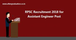 RPSC Recruitment 2018, Apply online for 916 Assistant Engineer posts