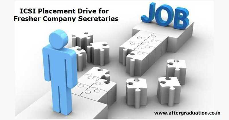 ICSI Mega Placement Drive 2019 For Company Secretaries having ACS Membership, ICSIdeclared the month of May & November hasplacement month and planned a Mega Placement Drive 2019 in every region of ICSI in May 2019.