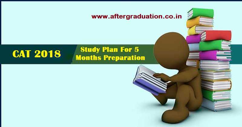 How to Prepare For CAT 2018 in 5 Months? Study Plan for CAT Preparation