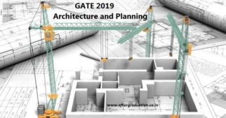 Architecture And Planning GATE 2019 Syllabus, Reference Books, Preparation Strategy
