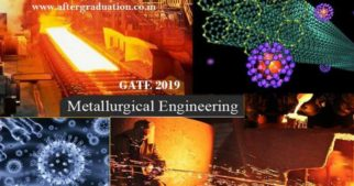 GATE 2019 Metallurgical Engineering Syllabus And MT Exam Pattern