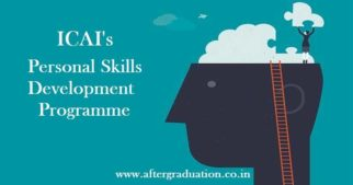 ICAI Four Weeks Residential Programme on Personal Skills Development for CAs