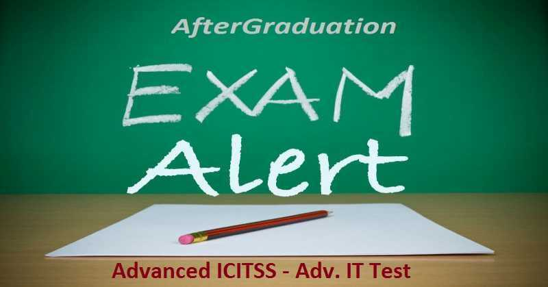 ICAI Announced Advanced ICITSS – Adv. IT Test On Sept 16 For CA Final Aspirants