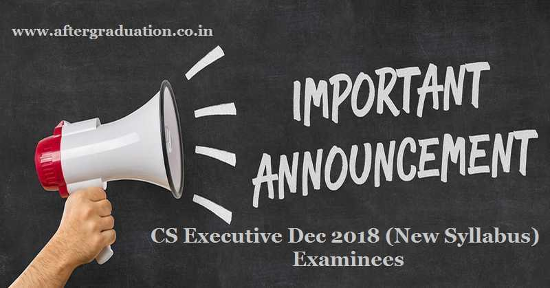 Last Opportunity For CS Executive Students to Appear in Compulsory Pre-Exam Test