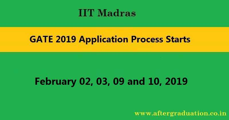 GATE 2019 Application Process Starts @gate.iitm.ac.in, Apply Before 21st Sept. Check GATE 2019 Important Dates, Eligibility Criteria, Exam Pattern, PSU Recruitment