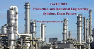 GATE 2019 Production and Industrial Engineering Syllabus and Exam Pattern