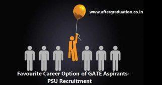 PSU Recruitment Through GATE Score, Favourite Career Option for GATE 2019 Aspirants, Check GATE Cut off Score, PSU GATE Cut off score and other details