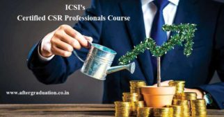 Registration Opens for ICSI 3-Months Certificate Course on Certified CSR Professionals, Certificate course on Certified CSR, Course on CSR, ICSI Certificate course on CSR