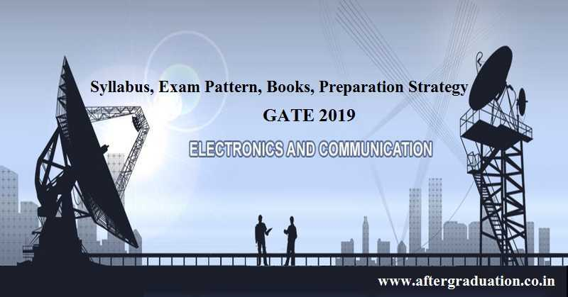 GATE 2019 ECE Syllabus, GATE 2019 ECE Exam Pattern, Reference Books to prepare GATE 2019 ECE and Preparation Tips for better GATE Score