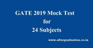 GATE 2019 Mock Test Released For 24 Subjects On gate.iitm.ac.in By IIT Madras, GATE 2019 preparation