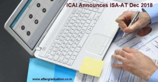 ICAI Announces Information System Audit Assessment Test, ISA-AT December 2018