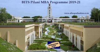 Admissions Open for BITS Pilani MBA Programme 2019-21. BITS-Pilani has invited the application for admission to its MBA Programme 2019-21