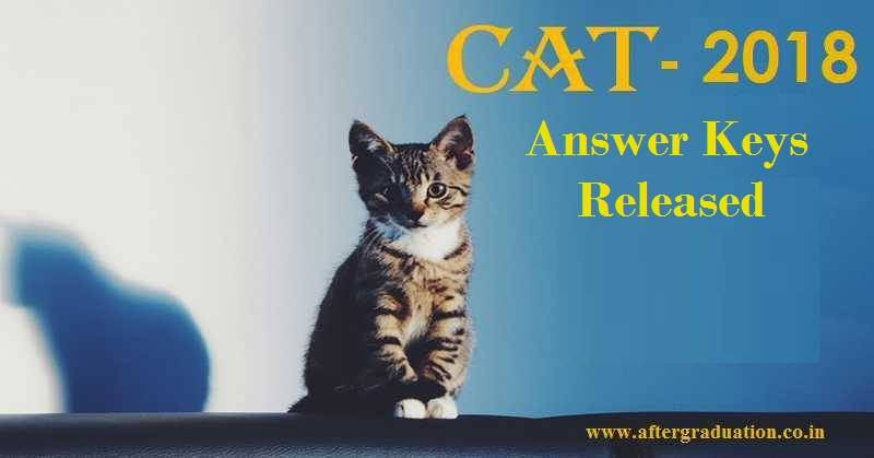 CAT 2018 Answer Keys released by IIM Calcutta: Check IIM admission procedure, how to download cat 2018 answer keys and question paper