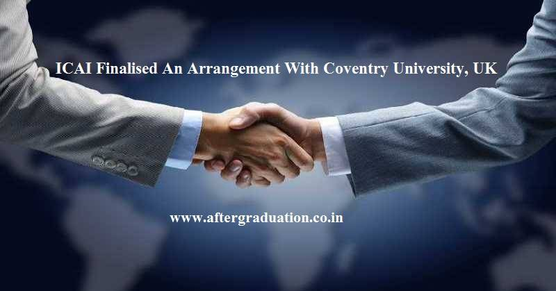 Indian CA's Can Complete MBA Degree from Coventry University, UK