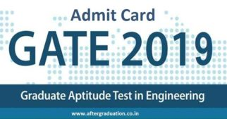 IIT Madras released GATE 2019 admit card. How to Download GATE 2019 Admit Card?