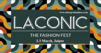 FDCR organizing an outfit event, LACONIC 2019 on March 2-3, at JKK, Jaipur. It's a platform to convert fashion into educational sessions.