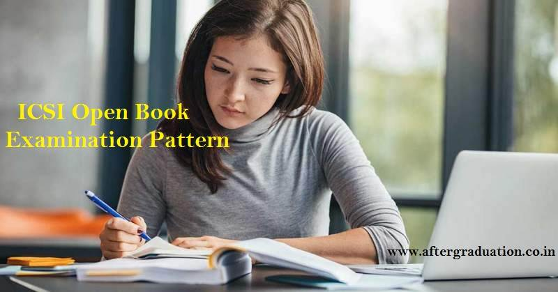 ICSI Open Book Examination (OBE) Pattern: ICSI has introduced OBE in all the Elective papers of Professional Programme Old and New Syllabus