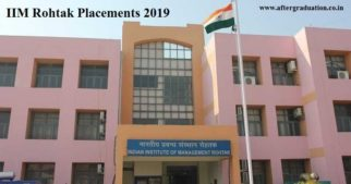 IIM-Rohtak placement 2019 sees more than 90 companies in the recruitment process offered an Avg. CTC Rs 11.85 LPA, IIM Rohtak Top recruiter.