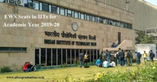 This year most of the 23 IITs will, on average implement 500 seats to economically weaker sections candidates i.e around 4% EWS seats in IITs.
