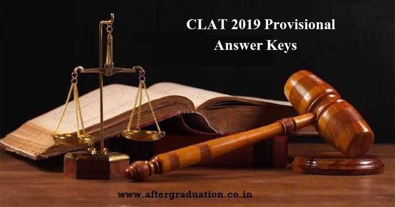 CLAT 2019 Answer Key is released by the Consortium of NLUs. Students can check and raise the objection for CLAT 2019 provisional Answer key.