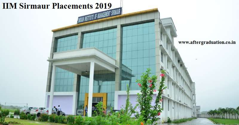 IIM Sirmaur Placement 2019: Highest Package, Average Salary, Top Recruiters, Batch Profile, Roles offered for IIM Sirmaur PGP placements.