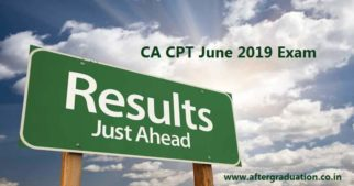 ICAI to declare the CA CPT June 2019 Results on July 18, 2019. Check the ways to access the CPT results and previous attempts pass percentage