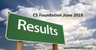 ICSI Announced CS Foundation June 2019 Result. All the Top-3 Spots are Clinched by Girls. Know how to Check CS Foundation Results, merit list
