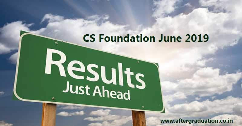 The Institute of Company Secretaries of India (ICSI) will announce the result for CS Foundation Programme June 2019 examination on July 25, 2019 at 11:00 am. Check Merit list, pass percentage and how to check the result
