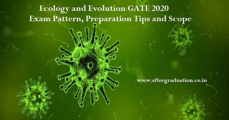 Ecology and Evolution GATE 2020 Exam Pattern, Preparation Tips and Scope.Candidates appearing for Ecology and Evolution (EY) subject in GATE 2020 must know GATE 2020 Ecology and Evolution syllabus, Best reference books to study, GATE 2020 Exam Pattern and preparation tips of the subject for better GATE score.