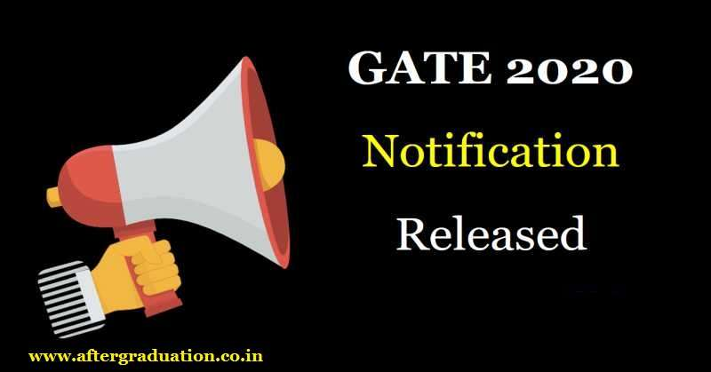 IIT Delhi released the GATE 2020 notification, Check complete Schedule of the Graduate Aptitude Test in Engineering 2020, GATE Exam pattern, GATE 2020 Exam dates, Eligibility Criteria, GATE 2020 Result date and other details