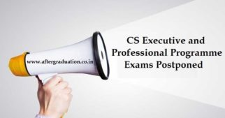 ICSI postponed CS exams December 2019 for Executive and Professional programme scheduled on December 23 and 24