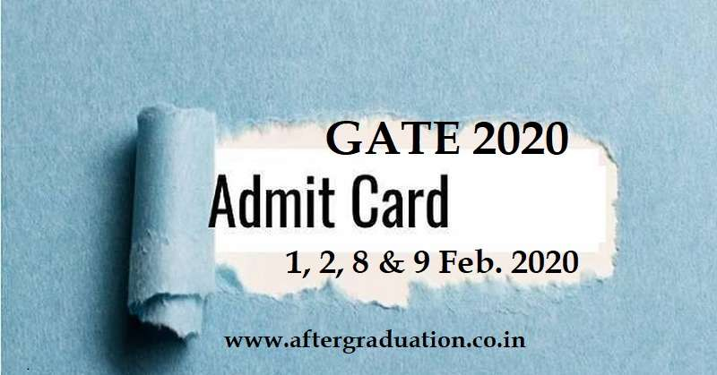 How to Download GATE 2020 Admit Card? Candidates applied successfully for GATE 2020 Exam can check the steps to download the GATE hall ticket 2020