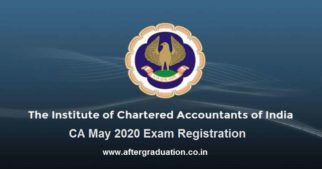 CA May 2020 Registration Process Begins, Check the registration process for ICAI CA Foundation, Intermediate and Final May 2020 examination