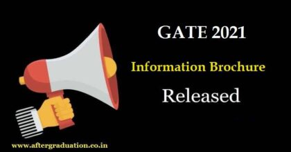 GATE 2021 Information Brochure Released: GATE Exam Schedule 2021, GATE Eligibility Criteria, How to apply for GATE 2021, GATE 2021 Exam Dates