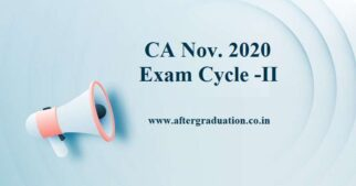 CA Exam Cycle 2 Date: ICAI Announces Notification For CA Nov 2020 Exam Opt-Out Students CA Jan/Feb 2021 exams