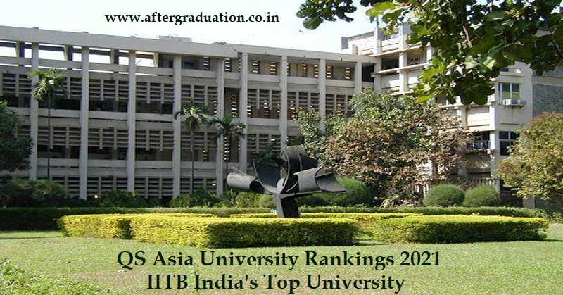 107 Indian Varsities Ranked in QS Asia University Rankings 2021, NUS - Asia's Best, IITB India's Top University Announced