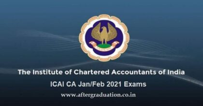 CA January 2021 Exam: ICAI Releases Opt-out Status, and Opens Window to Change Exam City For January-February 2021 CA Exams
