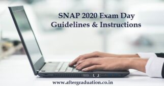 SNAP 2020 Exam Day Instructions and Guidelines Issued related to Covid 19, First SNAP Test 2020 on Dec 20, SNAP Test 2020 admit card, SNAP 2020 examinees, What to carry at the SNAP 2020 exam centre