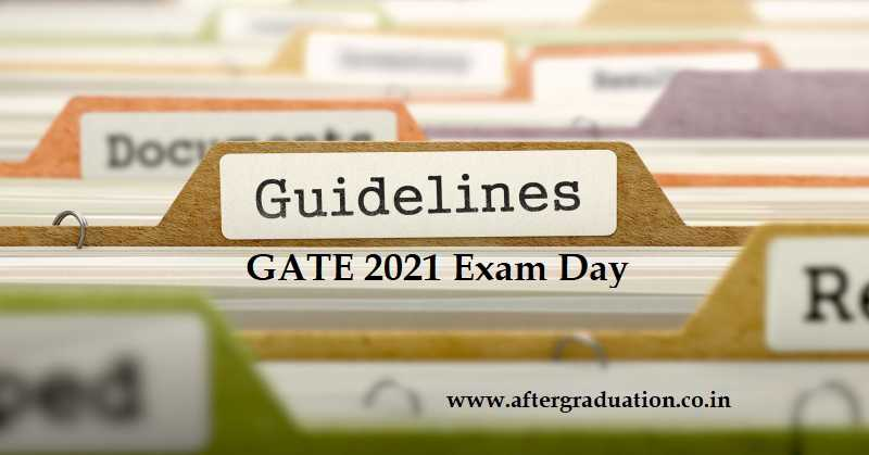 GATE 2021 Exam Day Guidelines Releases, IIT Bombay to Conduct GATE 2021 From Feb 06, GATE 2021 Preventive Measures for COVID 19, GATE exam