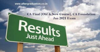 CA Final and Foundation Jan-2021 Result Date Announced, ICAI Latest Notification, How to check CA Final, CA Foundation Jan 2021 exam results